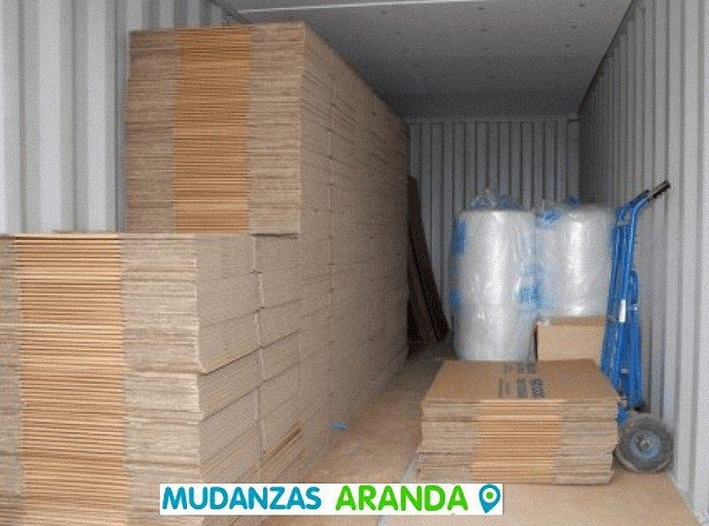 Cajas de mudanzas Aranda de Duero