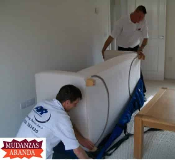 Mudanzas a pisos en Aranda de Duero