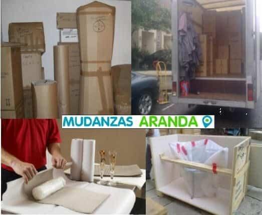 Mudanzas de Muebles a Tiendas en Aranda de Duero