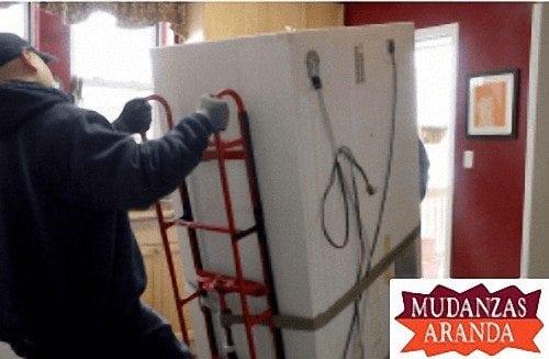 Transporte de electrodomésticos en Aranda de Duero